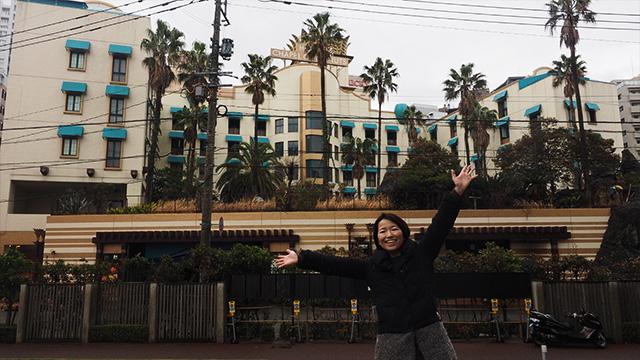 通称チャペココこと「チャペルココナッツ」。ディズニーのホテルみたい。