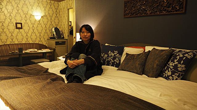 部屋とガウンと私。