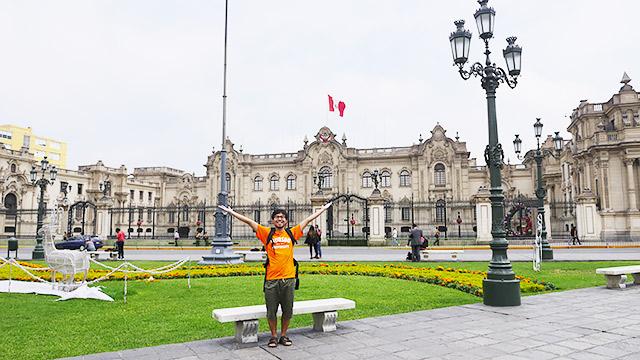 南米ペルーにやってきました!