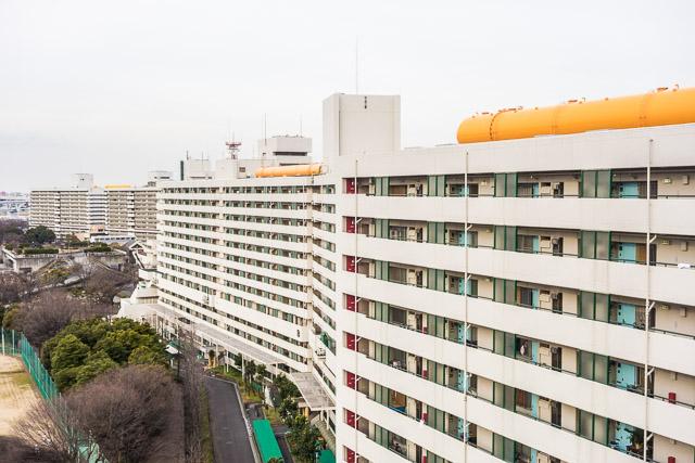 そしてなんといっても長さ1km超の防火壁団地・白鬚東アパートがあるのも墨田区。これもまた関東大震災、東京大空襲の教訓でつくられた。