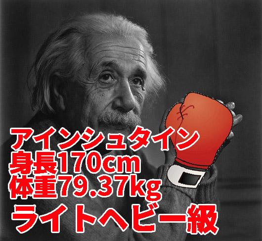 相対性理論を駆使して相手のパンチを見切りそうな天才理論物理学者