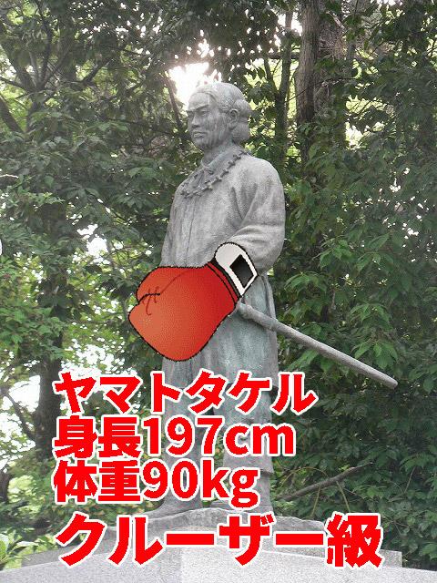 日本書紀によると197cm。