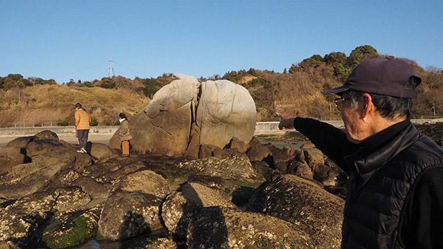 これが、ただの岩じゃないのだ!
