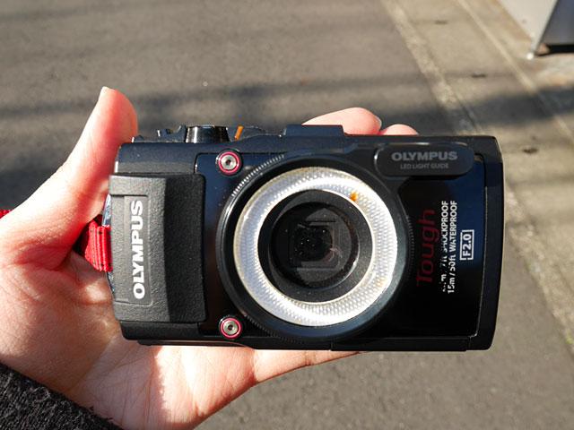 編集部で接写できるカメラも借りたので、接写もしていく