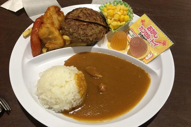 こちらはチキン+ビッグハンバーグ729円。