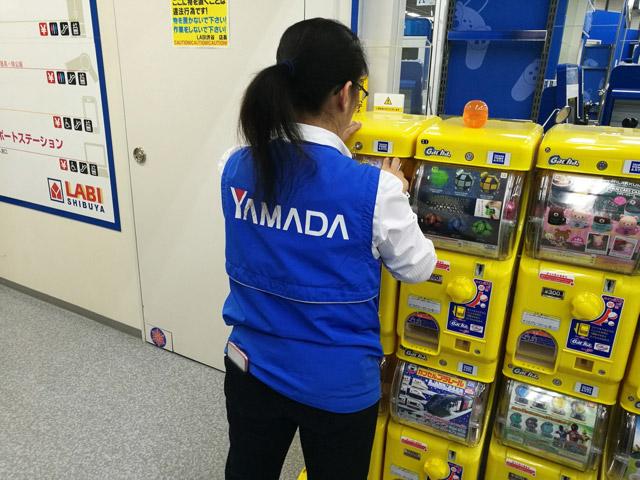 ヤマダ電機でガチャガチャやったときに一回詰まって店員さんを呼んだ。ものすごく恥ずかしかったがこれもまた懐かしい感覚だ。