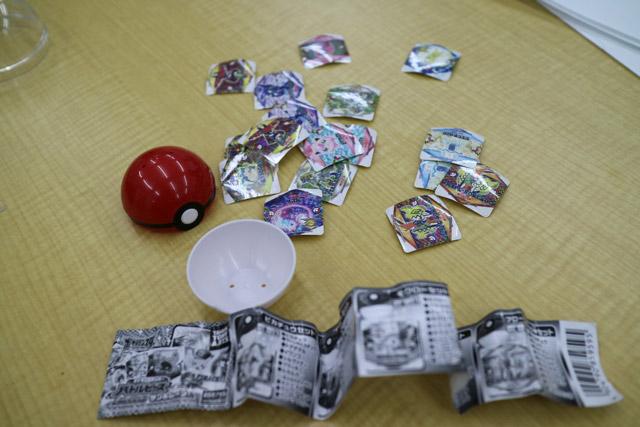 こちらはシールが20枚ほど入っていて100円。数少ない100円商品である。