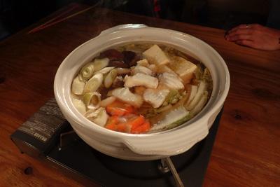 鍋にだって合う。