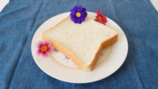 食パンも、ファンシーだ。