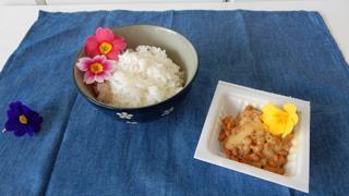 納豆ご飯はファンシーにならなかった。