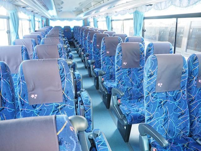高速バス カーテン