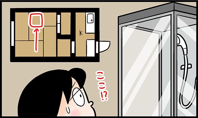 窓や押し入れに干渉しないように考えた結果だと思うけど……