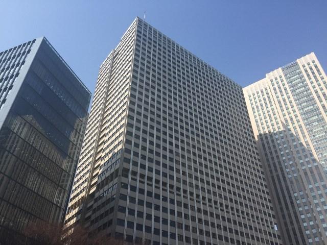 今では周りにもっと高いビルがいくつも立っているが、竣工当時は圧倒的に高い建物だった。