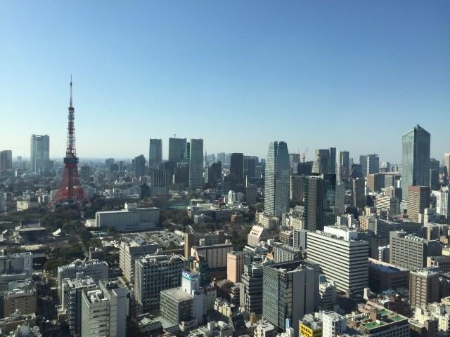 東京タワーはすぐ近くにあるのでよく見えるが、