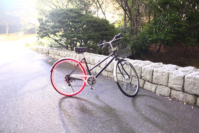 自転車が速くなる演出。