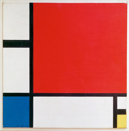 掲載元:https://commons.wikimedia.org/wiki/File:Piet_Mondriaan,_1930_-_Mondrian_Composition_II_in_Red,_Blue,_and_Yellow.jpg