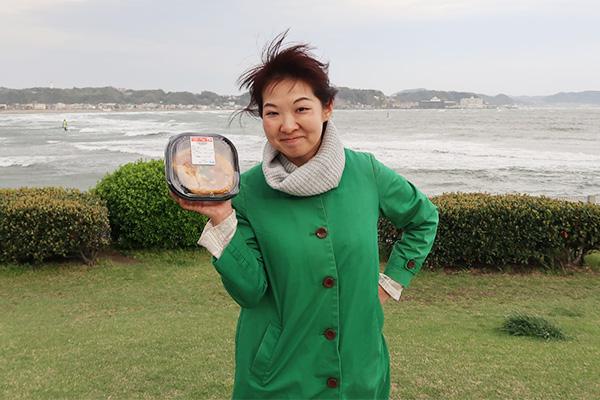 カツ丼(編集部/橋田玲子さん)。徐々にみんな「CMっぽい」と言いつつ、それっぽさを意識し始める。