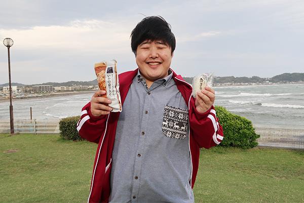 いかの姿フライ茶漬け(ライター/江ノ島茂道さん)。なぜこの写真、合成っぽいんだろう。