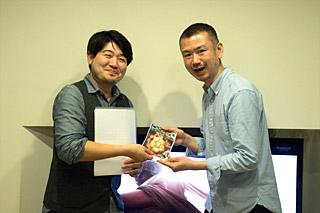 店では味わえないようなつけめんを作ったツジムラさんがベストコンセプト賞を受賞。