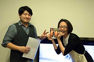 麻婆豆腐麺を作ったのそ子さんが、山田さんを1点差で押さえてのベストイージー賞。