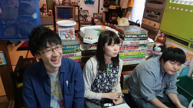 江ノ島さん、井口さん、北向さんのくまさんチーム。