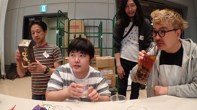 岩沢兄弟と本当に近くにいた人にお願いした。