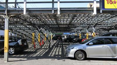 名古屋で見つけた良さのある立体駐車場で本日はお別れです。