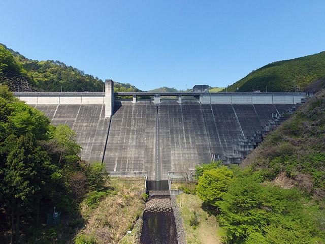 松田川ダム(栃木県足利市)