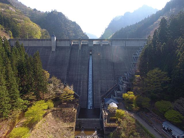 大仁田ダム(群馬県甘楽郡南牧村)