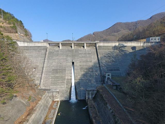 古谷ダム(長野県南佐久郡佐久穂町)