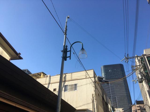 しかし街灯をよく見ると確かに商店街でよく見るそれである。