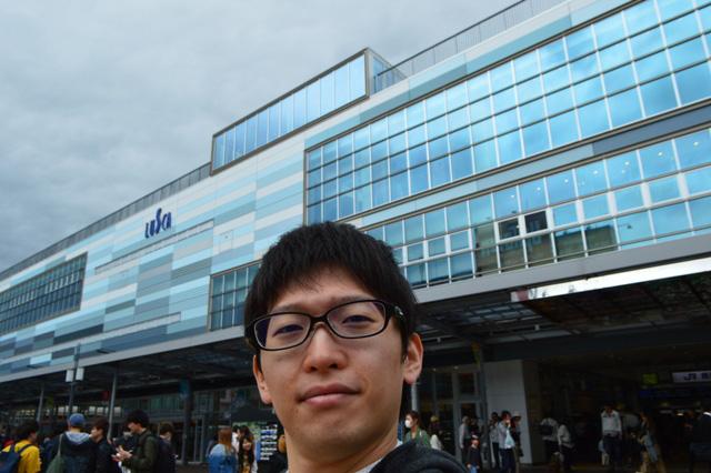 3年ぶりの熱海。駅が新しくなっていた。