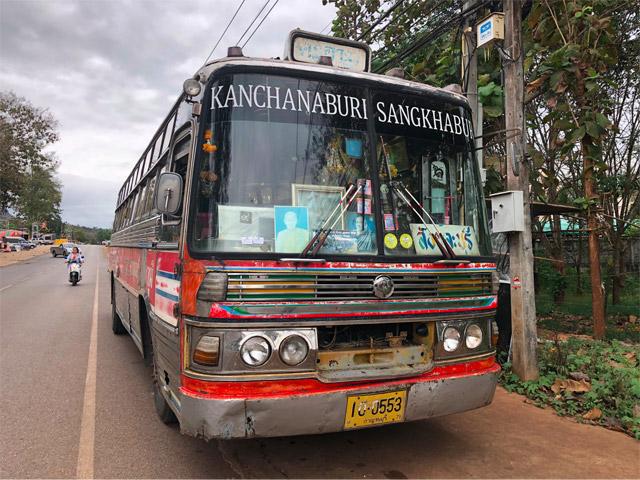 さらにサンクラブリ行きのバスに乗り換え。