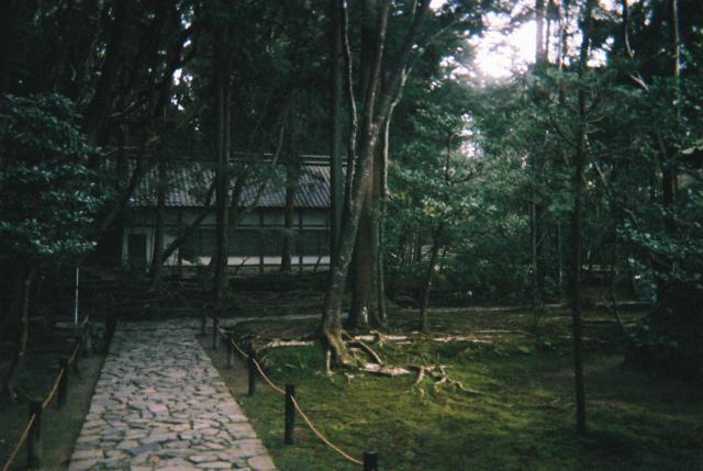 銀閣寺を出てふらふら歩いているうちに、良い雰囲気の場所に着いた