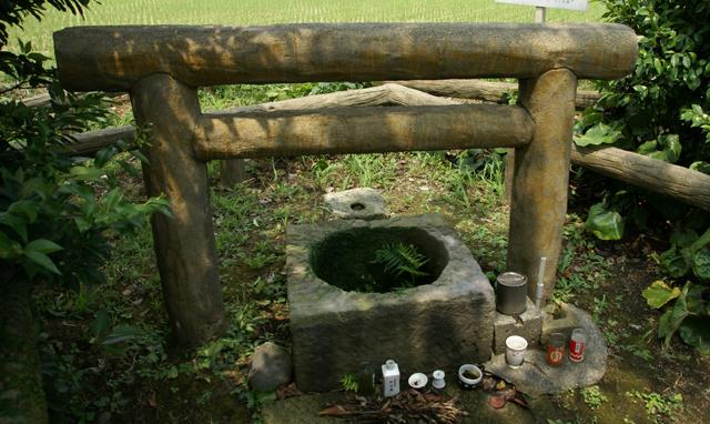 他に行ったのは指宿の「日本最古の井戸」とかだった。しぶいな。