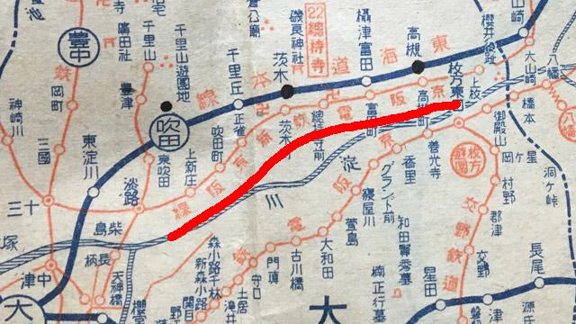 『最新大大阪全圖』(日本統制地図株式会社・昭和18年)より