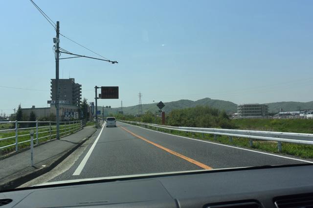 岡山市の中心部から15分ほど車を走らせる。