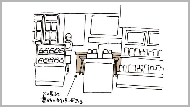 そんな中、お茶屋さんにカウンターを発見。