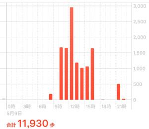この日、11,930歩も歩いてしまった。デパ地下ばかりを。