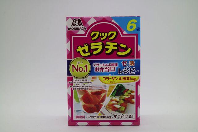 今度はゼラチンを使用する。ゼラチンはお菓子作りなどによく使用される。