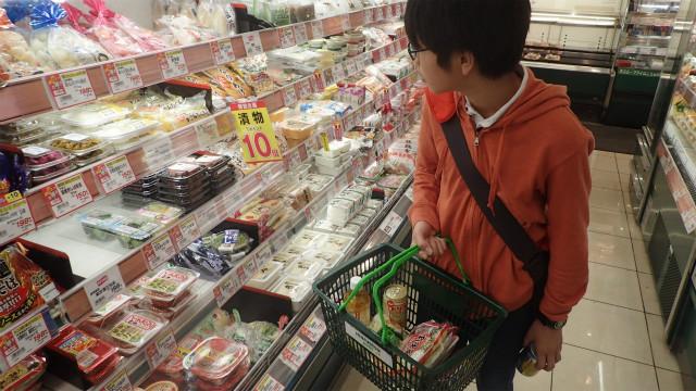 スーパーで適当に食材を買う