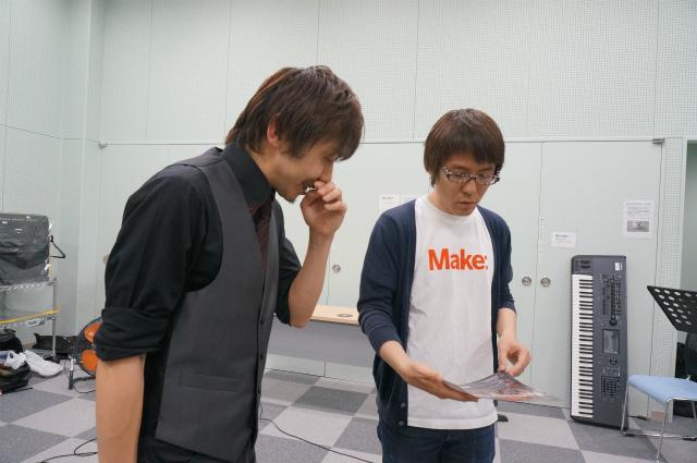 左が連絡をくれたリーダーの島田さん