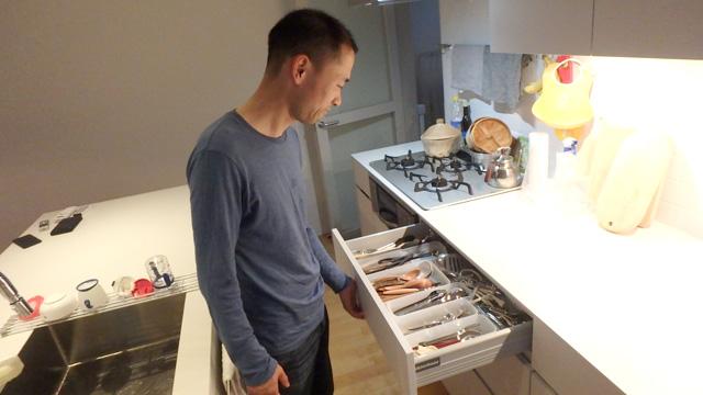 調理器具の場所は大体わかっていたそうです。
