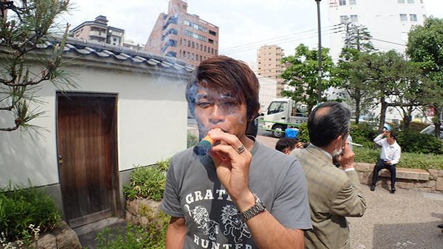いい煙だ。