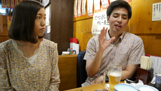 なんだか話を聞いている砂川さんがぼんやりしはじめた。しばらくして手元を見ると