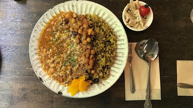 16穀米と2種の豆入り鶏挽肉カレー