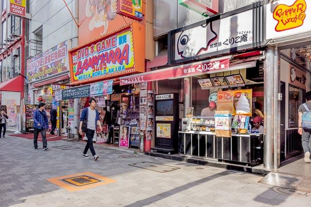 秋葉原店に行きました。外国人観光客で賑わっていた。