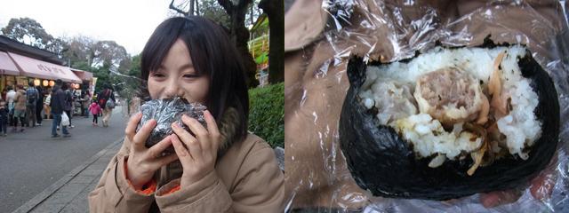 崎陽軒爆弾を食べてる友達も幸せそう。シューマイが次から次へと押し寄せてくるようだ