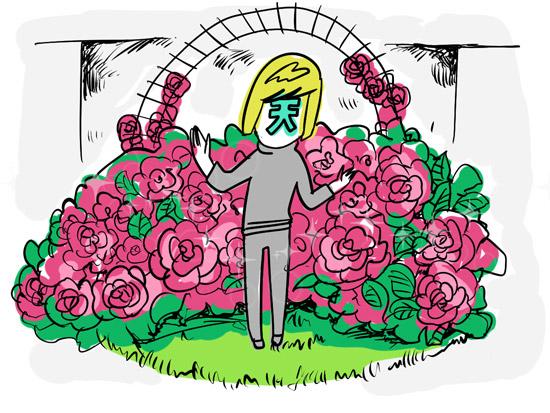 もし「天王洲アイルさん」という人がいたら、その人のお家には中庭があり、そこには薔薇が植えられているんじゃないかと思う