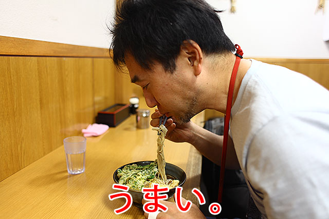 行田駅じゃないけどそばを食べました。